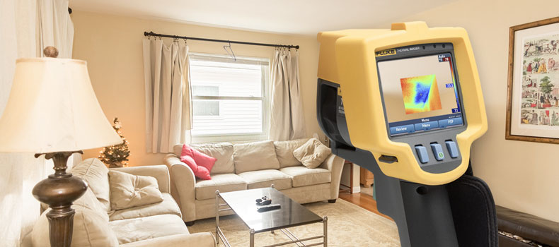 Get a thermal (infrared) home inspection from Right Angle Home Inspection Services